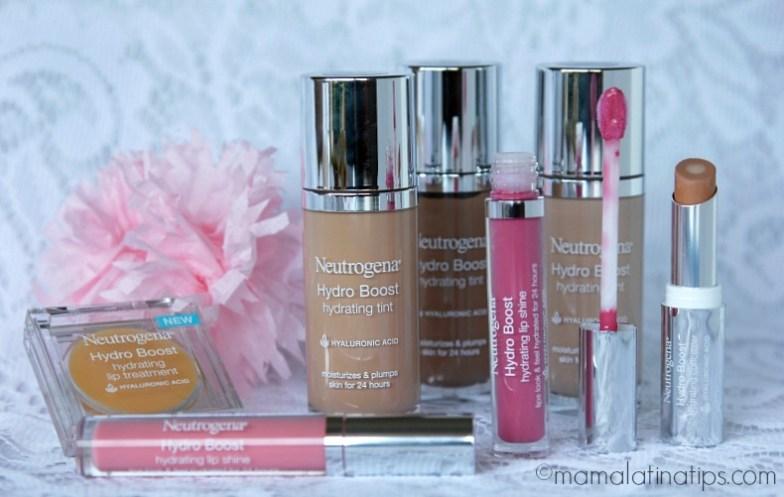 Línea de Maquillaje de Neutrogena Hydro Boost - mamalatinatips.com