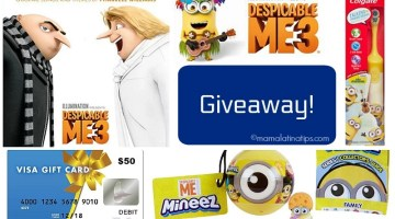 Despicable Me 3 Giveaway with Gift Card