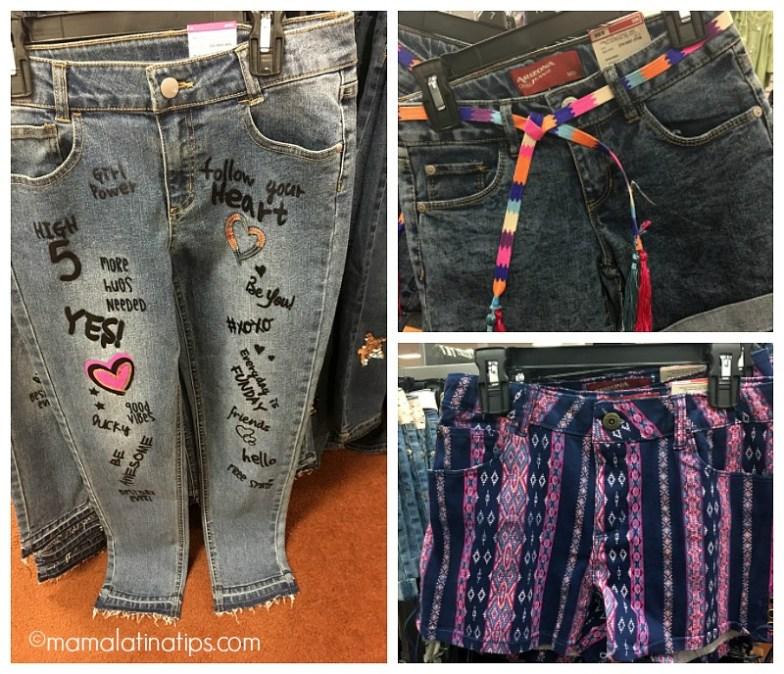 Jeans divertidos y con personalidad para el regreso a clases.