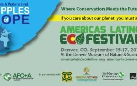 2017 Americas Latino Eco Festival in Denver, Colorado, Sept 15-17