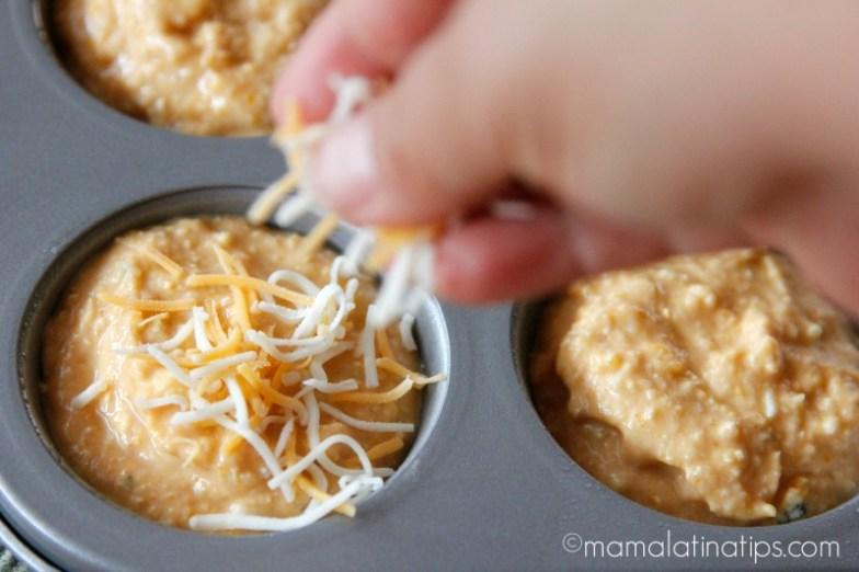 Panqués de calabaza de castilla con queso