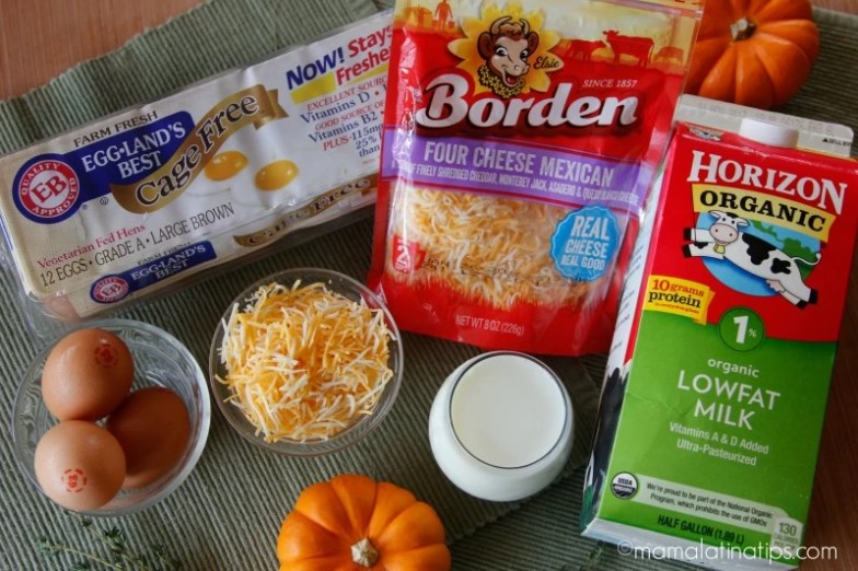 Borden cheese, Horizon Organic Milk, Eggland's Best Eggs