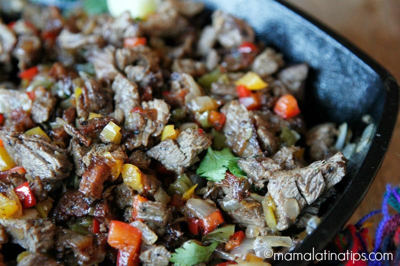 Beef and Chorizo Parrillada mamalatinatips.com