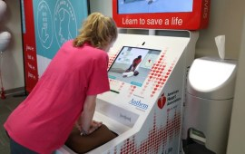 Hands-Only CPR Training Kiosks Now in Airports