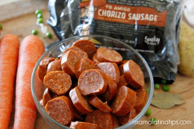 Chorizo Yo Amigo - Smoky Ridge Yo Amigo Chorizo Sausage