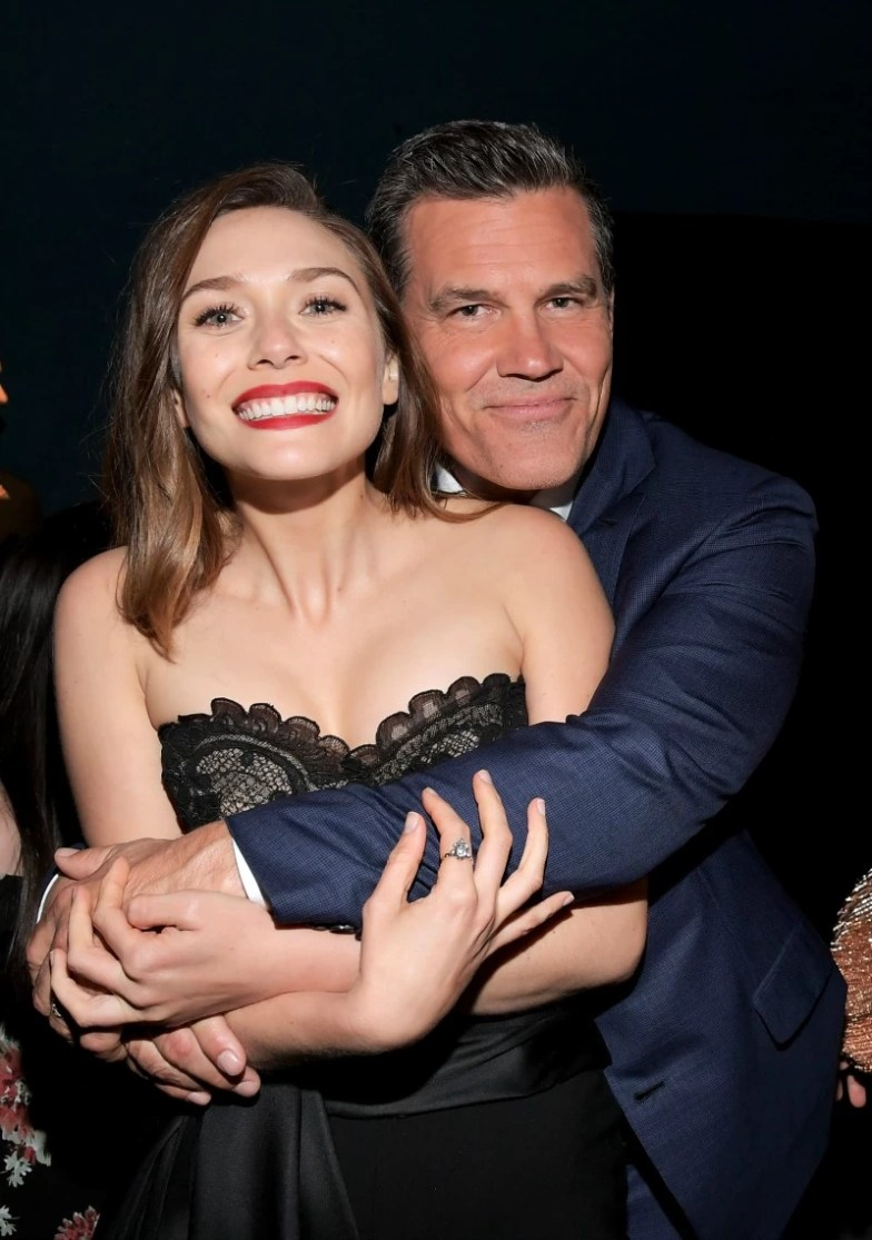 Elizabeth Olsen and Josh Brolin