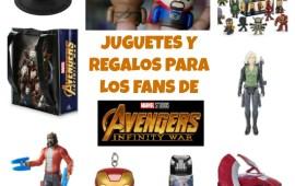 Juguetes y Regalos para los Fans de Avengers: Infinity War