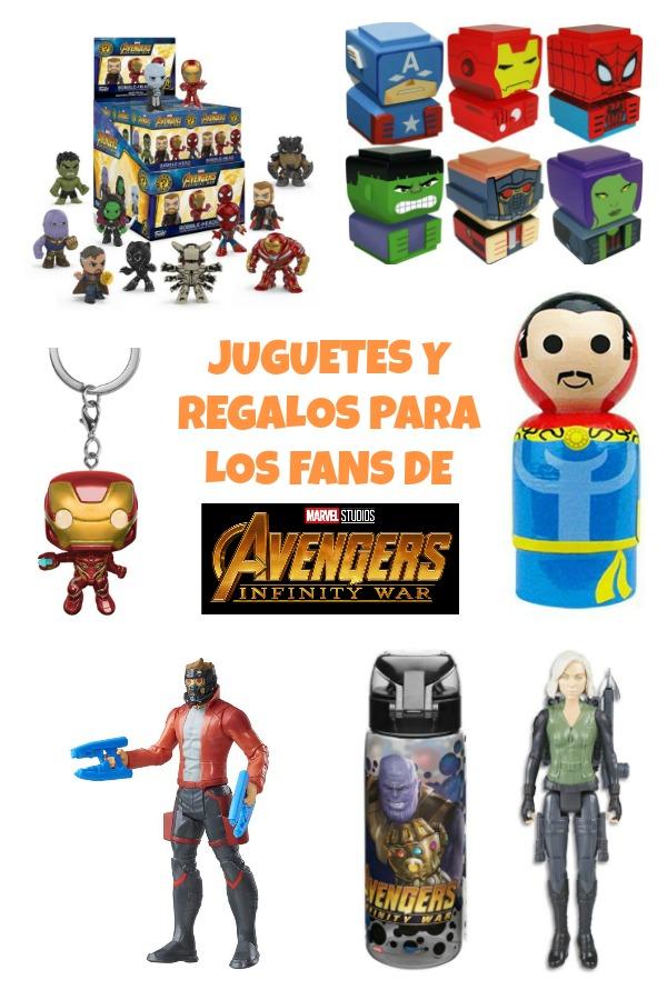 juguetes y regalos fans Infinity War
