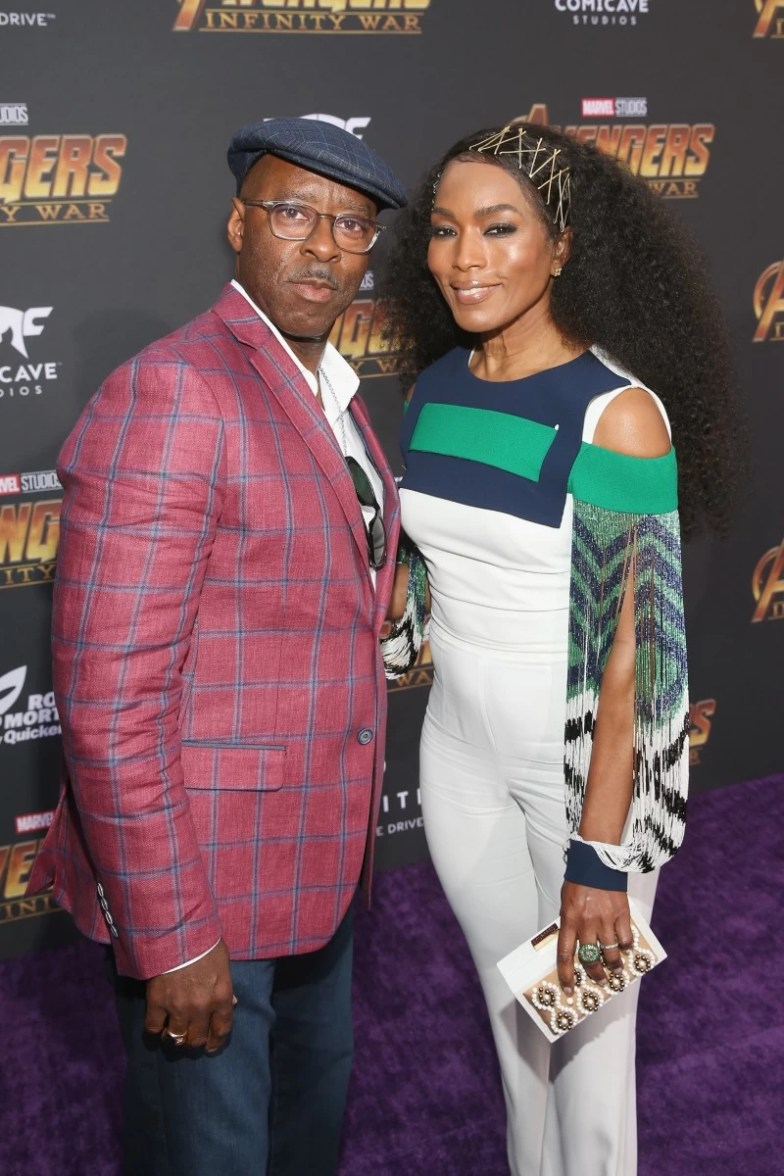 Angela Basset and Courtney B. Vance