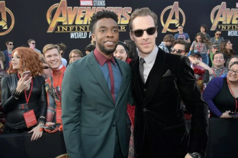 Chadwick Boseman and Benedict Cumberbatch