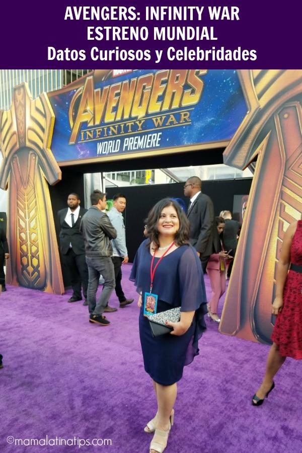 Estreno Mundial de Avengers: Infinity War