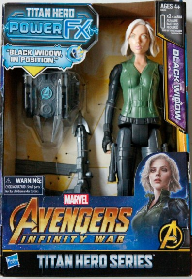 Black Widow action figure