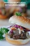 mini-hamburguesas estilo jamaiquino