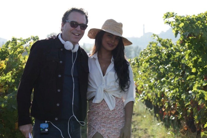 Michael Seitzman and Priyanka Chopra