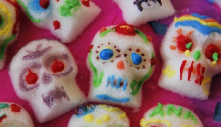 Easy and Edible Sugar Skulls