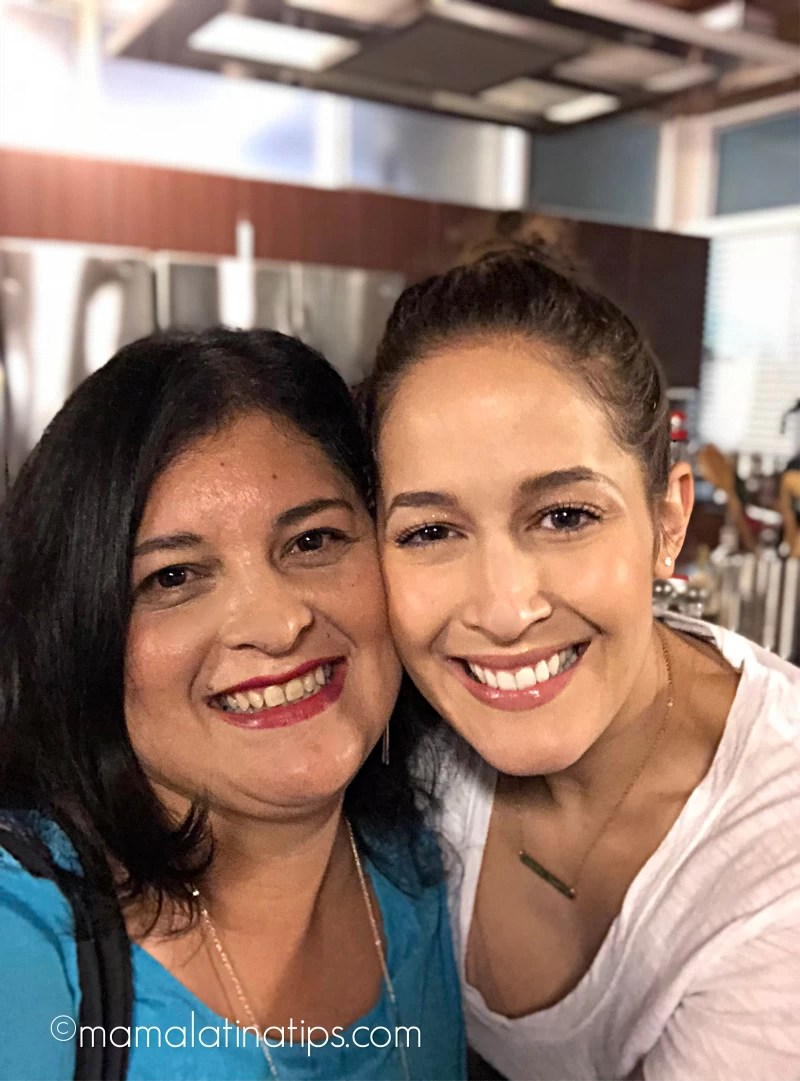 Jaina Lee Ortiz (Station 19) and Silvia Martinez