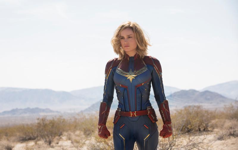 Carol Danvers/Captain Marvel (Brie Larson)