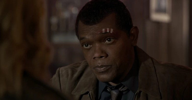 Nick Fury (Samuel L. Jackson) Captain Marvel
