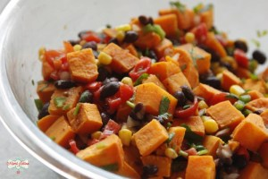 Mexican sweet potato salad