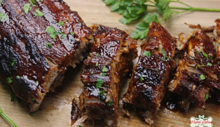 Pork Ribs with Guajillo Sauce