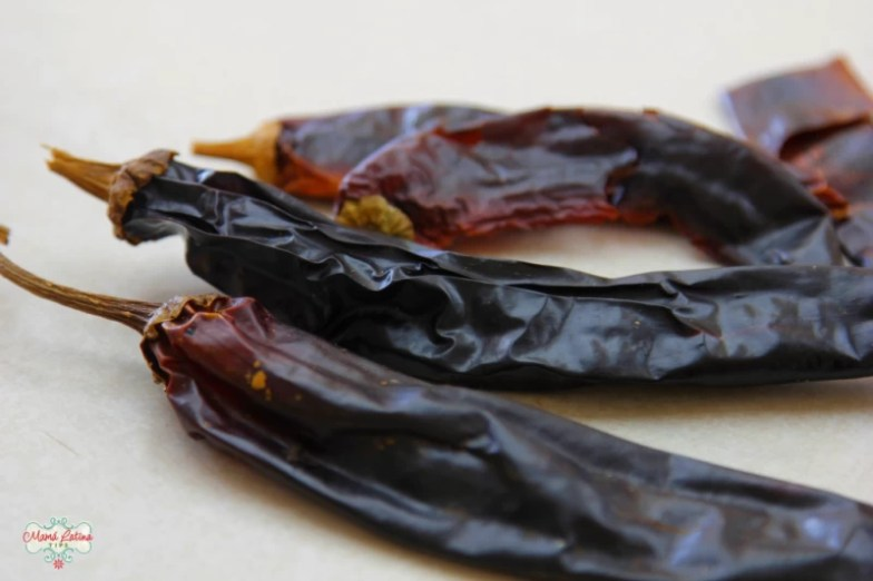 Guajillo peppers