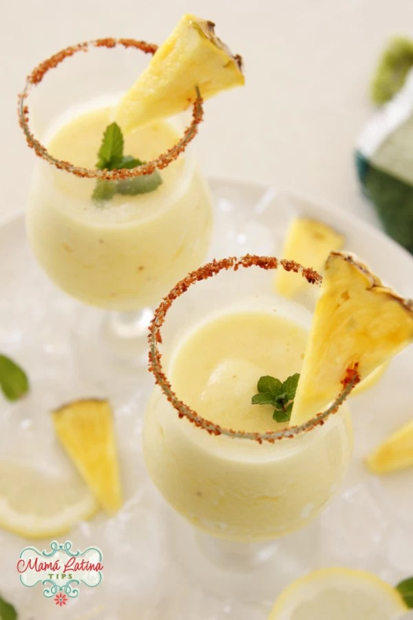 pineapple frozen margarita