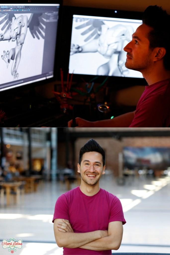 Alfonso Martinez, animador de Pixar