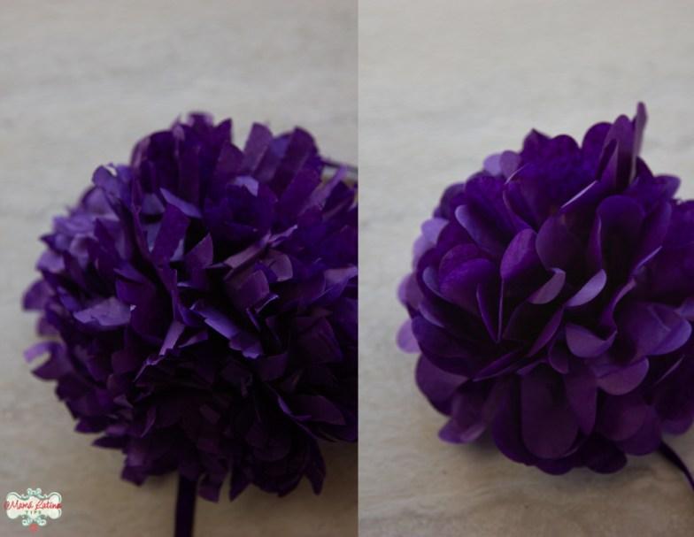 flores de cempazuchitl moradas para día de muertos