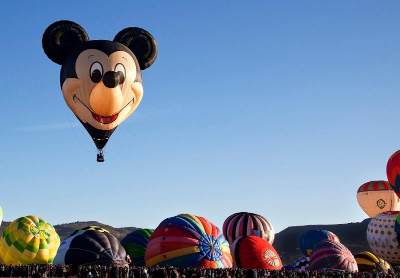 Globo aerostático de Mickey Mouse