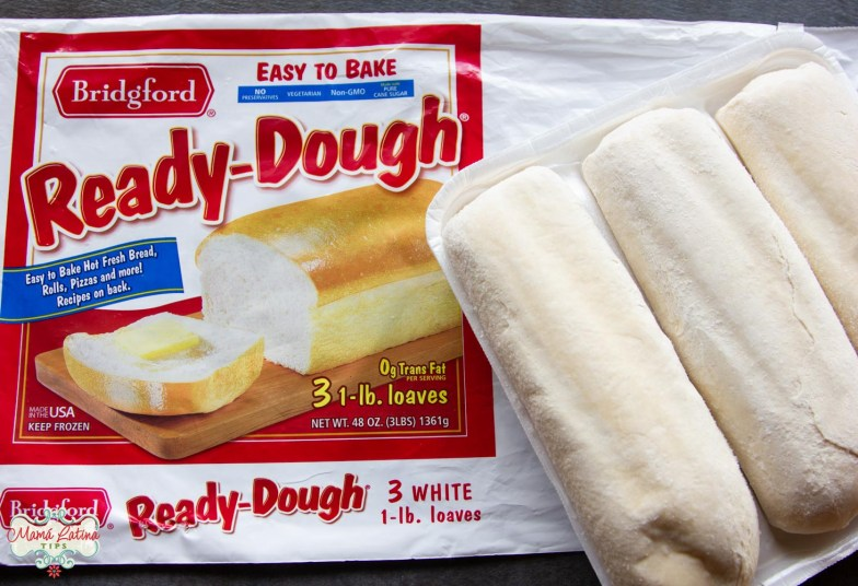Three Bridgford Ready-Dough loaves