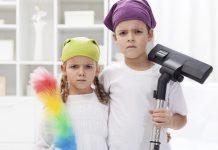 chores, children, age