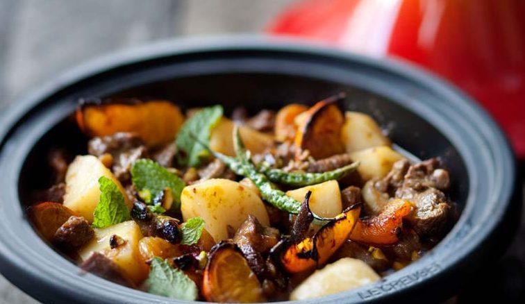 recipe, lamb, apricot,dinner