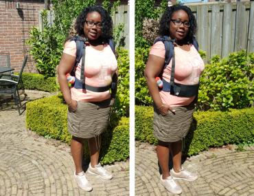 Voor en na foto's met de Tummytuck van Miss Catie made it