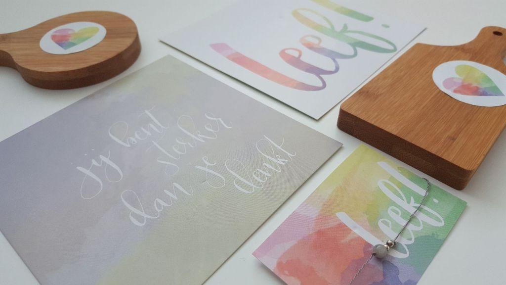 Leef! kleurvolle happiness kit