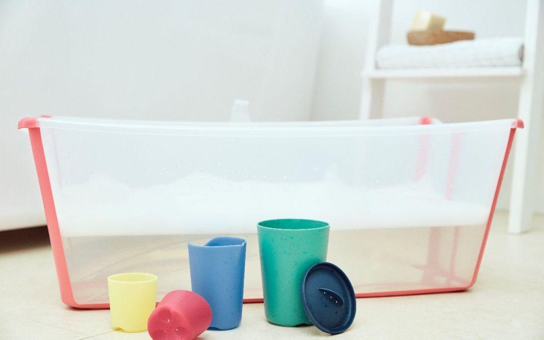 Stokke Flexi Bath lijn; van opvouwbaar badje tot badspeeltjes