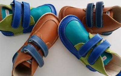 Zeazoo leren barefoot schoenen voor kinderen