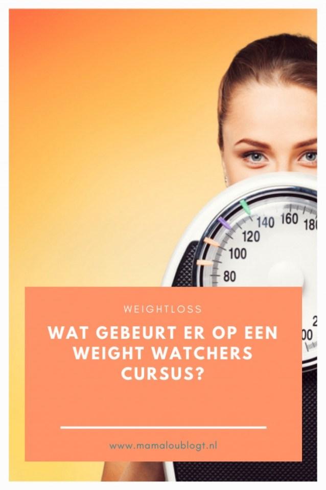 weight watchers cursus