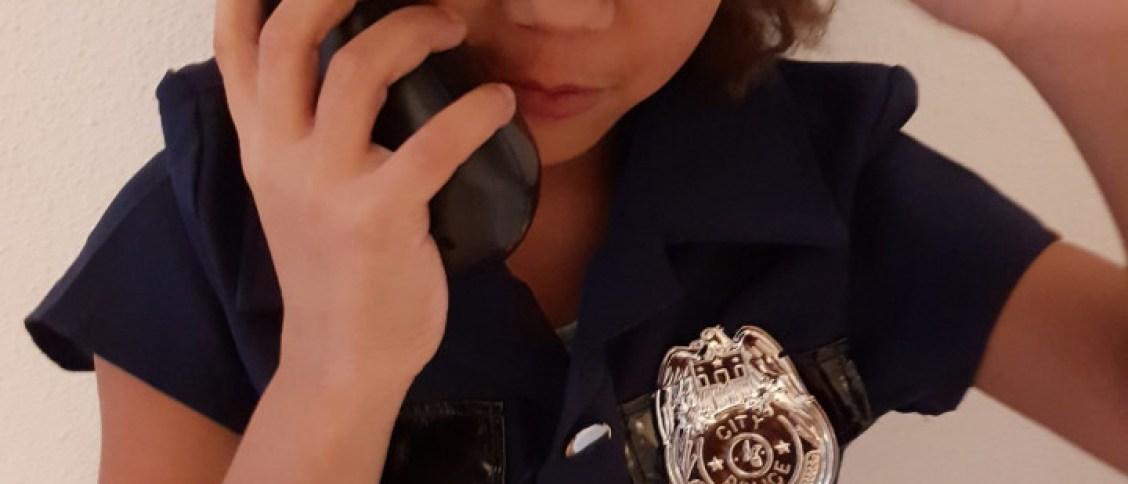 carnavalsoutfit politieagent