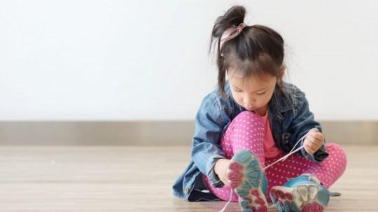 Schoenen voor als je kind nog geen veters kan strikken