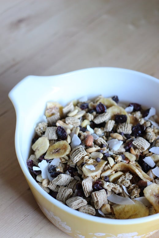 Fruit and Granola Trail Mix