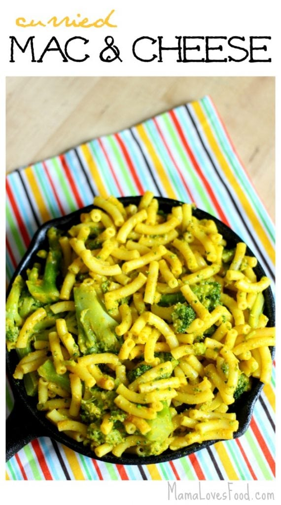 curried macaroni and cheese