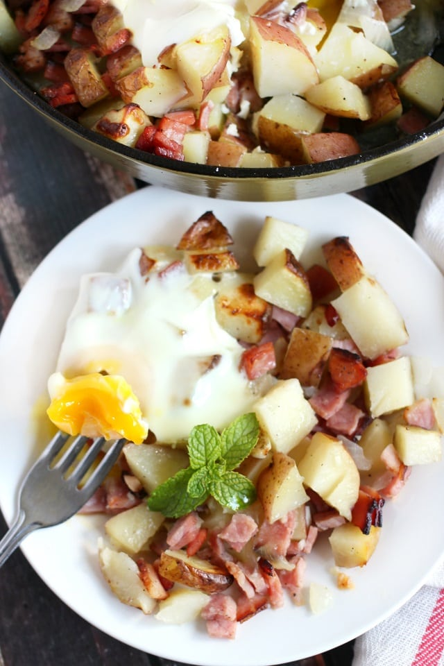 Ham and Potato Breakfast Bake.