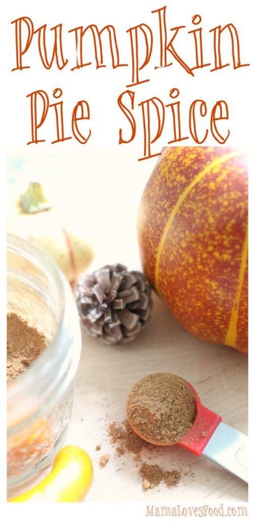 Pumpkin Pie Spice Blend Recipe