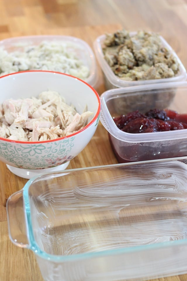 Easy Thanksgiving Leftovers Casserole