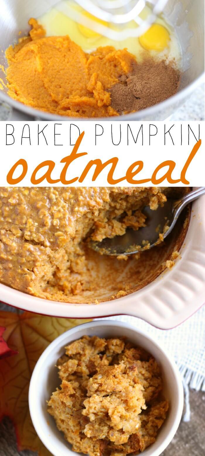 pumpkin oatmeal recipe