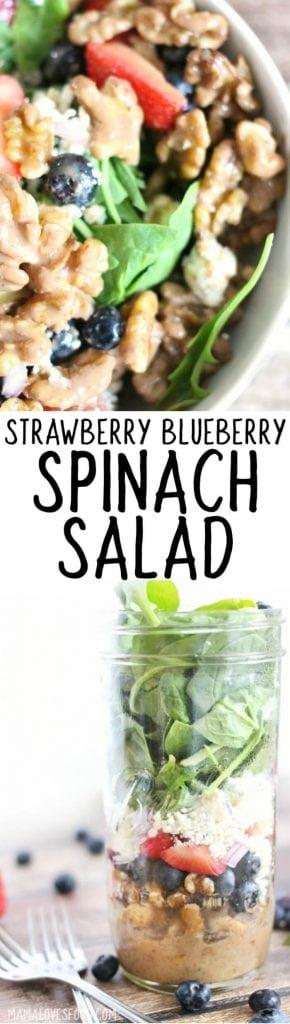 Strawberry Spinach Salad Recipes