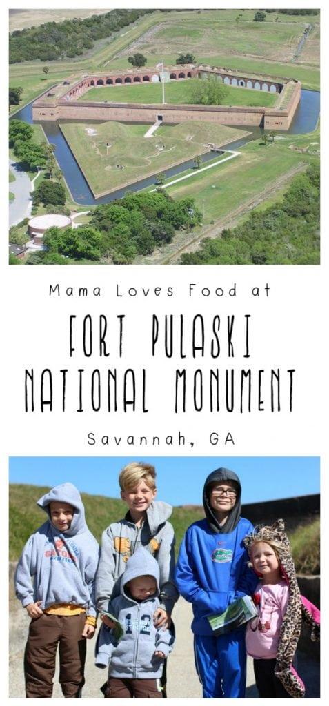 Visit Fort Pulaski National Monument in Savannah Georgia