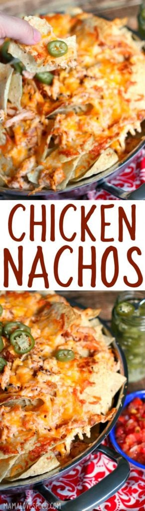 HOW TO MAKE CHICKEN NACHOS