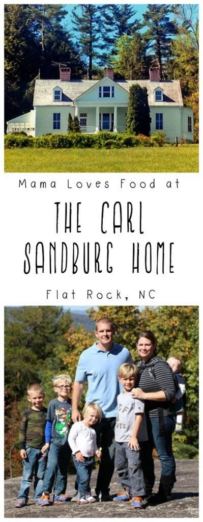 Visiting the Carl Sandburg Home in Flat Rock North Carolina
