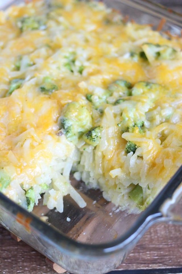 Broccoli Cheese Potato Casserole Recipe